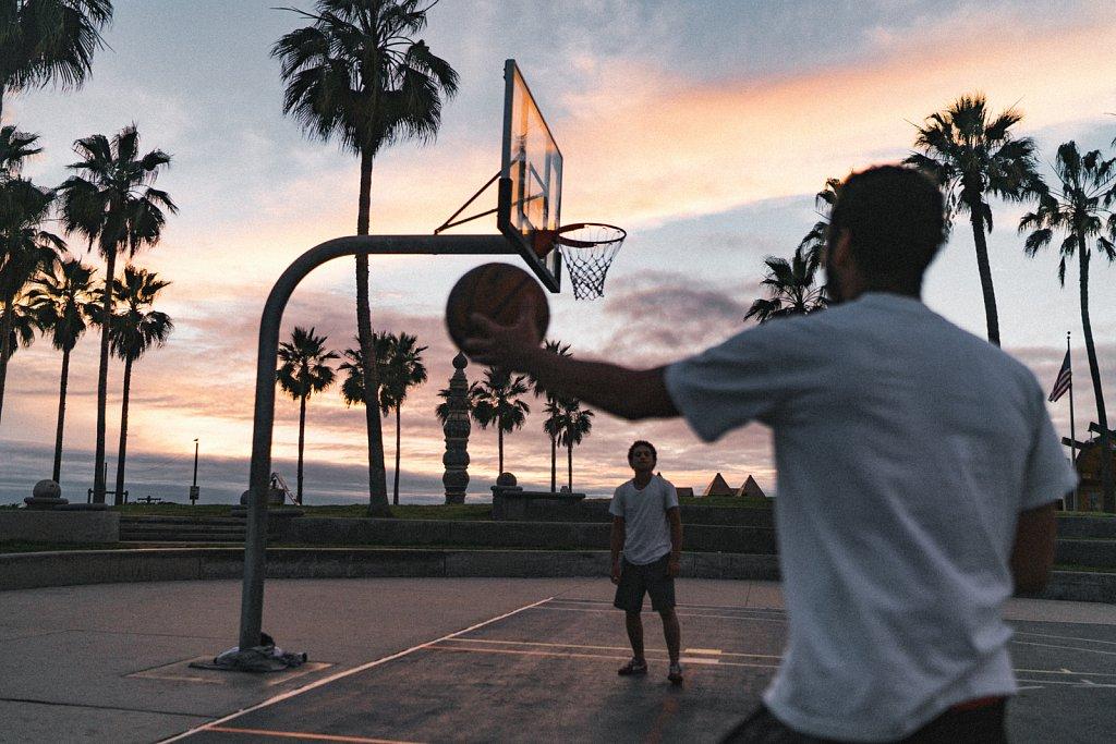 Basketball @VeniceBeach
